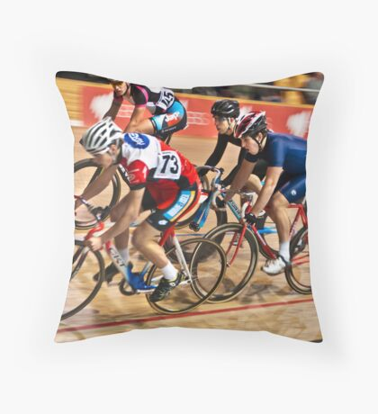 Local Velo Racing Throw Pillow