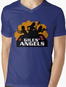 Gile's Angels Mens V-Neck T-Shirt