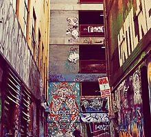 Graffiti Panorama by Liviphotography