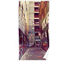 Graffiti Panorama Poster