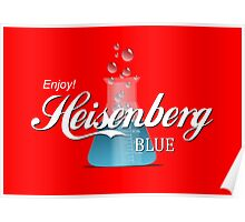 Enjoy Heisenberg Blue Poster