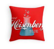 Enjoy Heisenberg Blue Throw Pillow