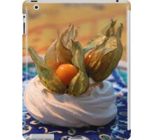 Meringue dessert iPad Case/Skin