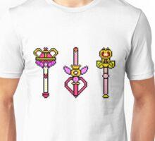 Pixel Sailor Moon Wands  Unisex T-Shirt