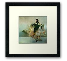 Go for the moon. If you don't get it, you'll still be heading for a star. Framed Print
