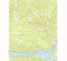 USGS Topo Map Washington State WA Rimrock Lake 243460 1967 24000 by wetdryvac
