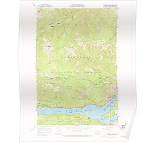 USGS Topo Map Washington State WA Rimrock Lake 243460 1967 24000 Poster