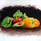 Vegetable Still Life by jsalozzo