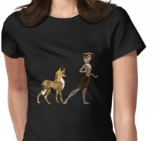 Twisted - Wild Tales: Kacela and the Hunting Dog Womens Fitted T-Shirt