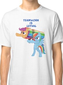 Teamwork Is Lethal Classic T-Shirt