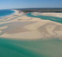 Scenic coast of Broom, Western Australia by DianneLac