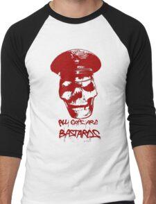 ACAB RED Men's Baseball ¾ T-Shirt