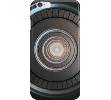 Monochromatic round staircase iPhone Case/Skin
