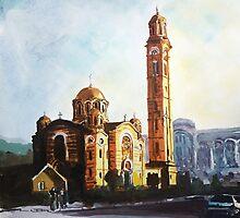 Golden Church  by ZlatkoMusicArt