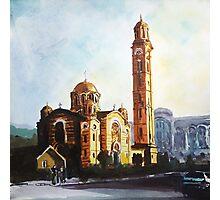Golden Church  Photographic Print