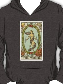 Tarot Card - The World T-Shirt