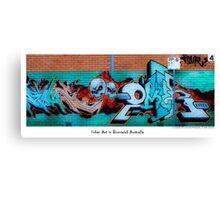 Urban Art In Brunswick Canvas Print