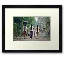 Always together Framed Print