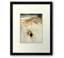 Here's Mud In Your Eye Framed Print