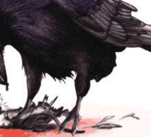 Crow, Bloody Snow 2 Sticker