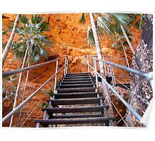 Mini Palm Gorge trail, Purnululu Poster