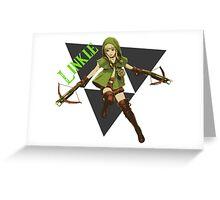 Linkle 3 Greeting Card
