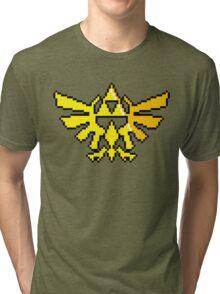 Hylian Crest Tri-blend T-Shirt