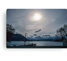 Jetty Lake Wanaka NZ 19650912 0300 Canvas Print