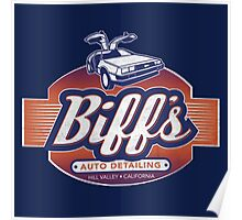 Biff´s Auto Detailing Poster