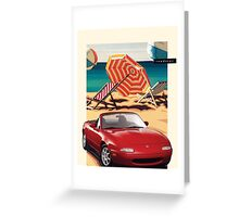 NA Miata Brochure Greeting Card