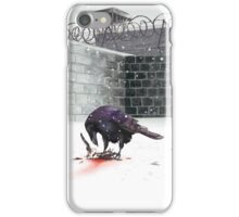 Crow, Bloody Snow iPhone Case/Skin