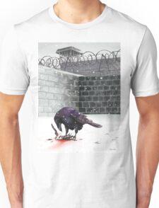 Crow, Bloody Snow Unisex T-Shirt