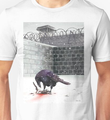 Crow, Bloody Snow Unisex T-Shirt