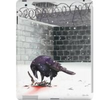 Crow, Bloody Snow iPad Case/Skin
