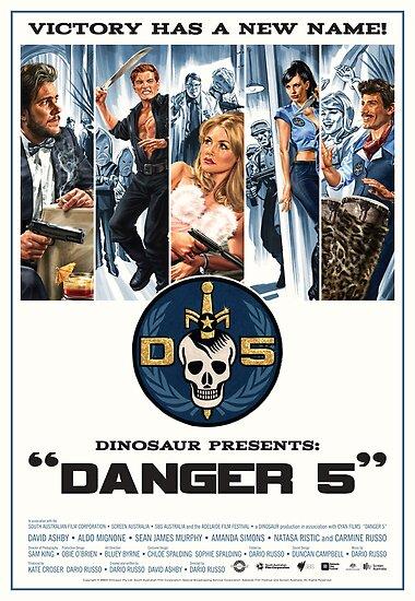 Danger 5 Official Poster by Danger Store
