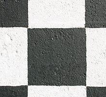 Black and White Wall by Chris  Bradshaw