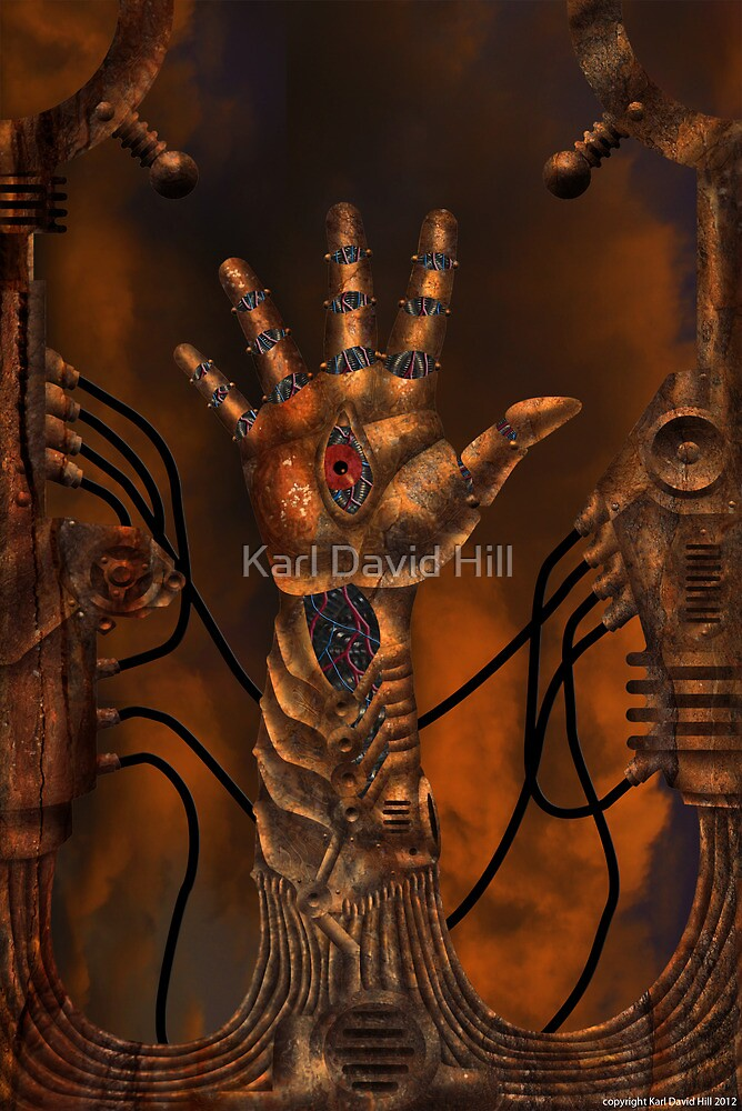 The Seer 001 by Karl David Hill