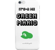 Green Mario iPhone Case/Skin