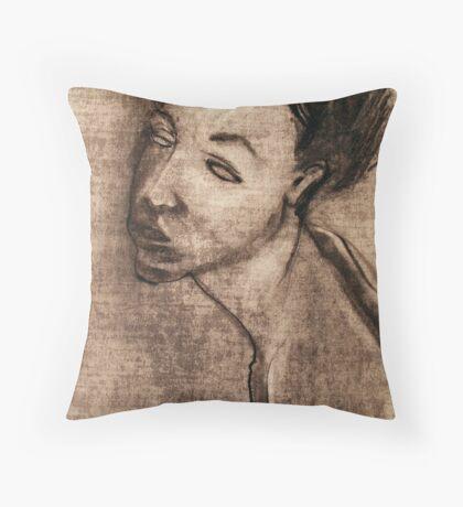 Bertie, portrait Throw Pillow