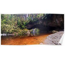 Moria Gate Archway panoramic Poster
