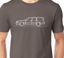 Volvo 850 T5-R - Single Line Unisex T-Shirt