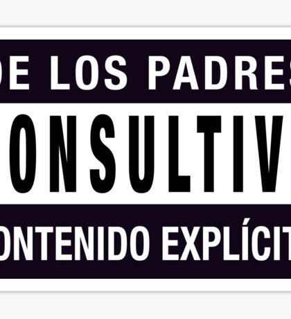 Mind your language - Spanish Sticker