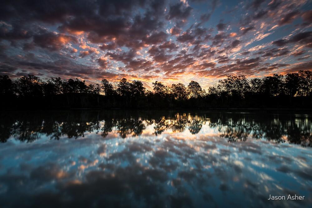"""Riverdusk"" ∞ Brisbane River, QLD - Australia by Jason Asher"