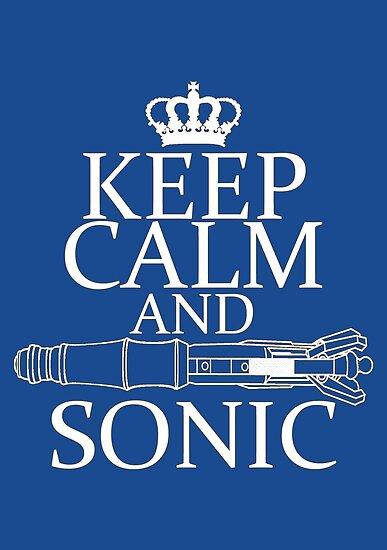 Keep Calm and Sonic by Amiteestoo