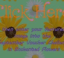 Banner - Enchanted Flowers September Challenge by aprilann