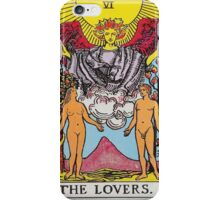 Tarot Card - The Lovers iPhone Case/Skin