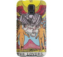 Tarot Card - The Lovers Samsung Galaxy Case/Skin