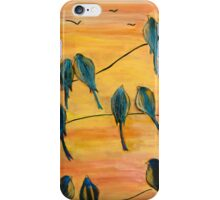 Birds On Wires iPhone Case/Skin