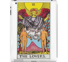 Tarot Card - The Lovers iPad Case/Skin