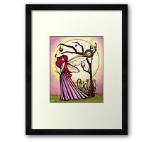 Faery Dream Tree  Framed Print